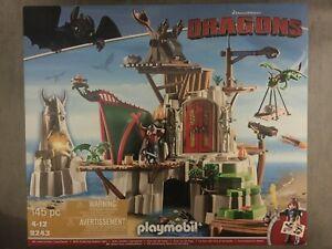 PLAYMOBIL How To Train Your Dragon (Dragons) 9243 - Berk NEU/OVP aus Sammlung