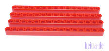 LEGO Technik - 4 x Liftarm dick 1x15 rot / Red Liftarm 1 x 15 / 32278 NEUWARE