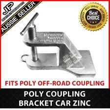 POLY OFF-ROAD COUPLING BRACKET CAR ZINC TRAILER HITCH CARAVAN SUITS TREG/TRIGG