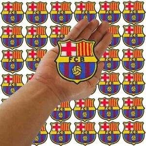 Wholesale FC Barcelona Spain Football Soccer Logo Sew Iron on Embroidered Patch