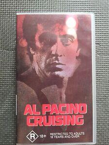 Cruising VHS Movie Al Pacino Paul Sorvino Karen Allen