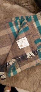 Scottish Wool Blanket Vintage