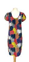 Boden Multicoloured Floral Cotton Dress Size 14L