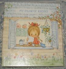 1973 Hallmark Betsey Clark Spiral Notebook My Favorite Recipes w/Recipe Cards ex