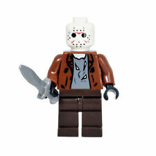 Friday the 13th Jason Voorhees minifigure custom toy Horror Movie Killer