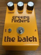 Creepy Fingers The Balch Fuzz Pedal NEW IN BOX #12 Produced Signed Inside