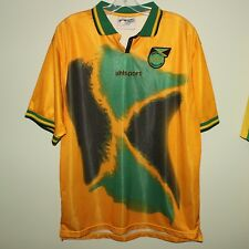 vintage JAMAICA 2001-02 home football shirt Uhlsport XL soccer jersey World Cup