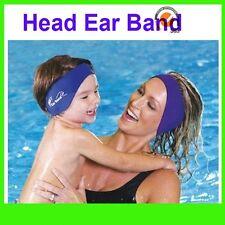 Swimming Ear Head Band Neoprene Wet suit Aqua Head Bands S M L Kids Adult sizes