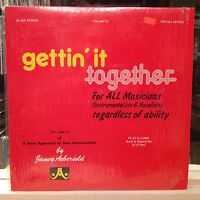 [JAZZ]~NM 2 DOUBLE LP~JAMEY AEBERSOLD~New Approach To Vol  21~Gettin It Together