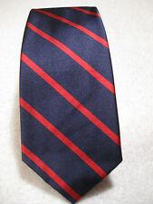 NWT $125 POLO Ralph Lauren 100% Silk Tie Handmade in Italy Navy/Red