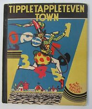 1st Edition 1931 TIPPLETAPPLETEVEN TOWN Paul Bartlett Taylor COUNTING BOOK