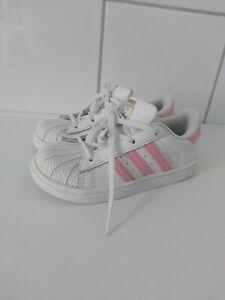 Adidas Superstar 26 27 Pink Kinder Mädchen