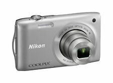 *lens broken* Nikon COOLPIX S3300 16.0 MP Digital Camera - Silver