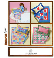 "Reduced!!  BUTTERICK 4538 18"" DOLL BED AND MINI QUILTS Pattern"