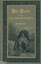 Lederstrumpf Der Fuchs Seine Jagd und sein Fang 1894