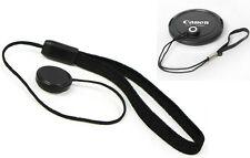 Lens Cap Keeper Cord w/Elastic Leash For Canon Nikon SLR Camera Lens
