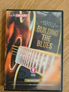 Lick Library - Building the Blues ( Acoustic Fingerstyle Edition) DVD