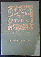 REVUES THE STUDIO 1910 PORTRAITS MINIATURES DESIGN ART ARCHITECTURE DECO VITRAUX
