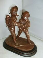More details for ballantynes ornament branch pair of firefighters 1997