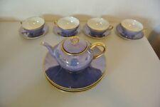 Rare Antique Thomas Sevres Bavaria Teapot Haviland Cups Silesia Saucers Plates