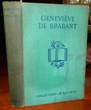 Genevieve De Brabant. Jose Germain. 1936. French Language