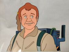 RAY STANTZ The Real Ghostbusters Authentic Animation Production Cel + Drawing