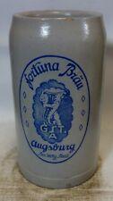 große Auflösung Bierkrug Nr. 0848 Fortuna Bräu Augsburg