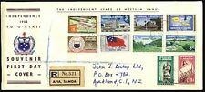 SAMOA 1962 definitive set complete on reg FDC..............................24345
