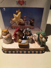 EDDIE WALKER NATIVITY ~HAPPY BIRTHDAY JESUS~ MIDWEST OF CANNON FALLS