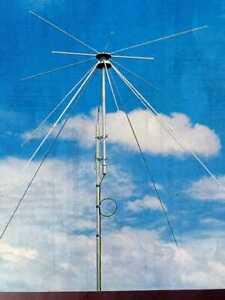ANTENNE DISCONE pro (80 à 480 MHz) pour EM / REC