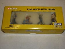 Corgi, CC31903, four piece figure set  work men, hand painted, boxed