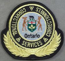 Ontario Canada Correctional Services Patch
