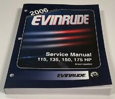 Manual De Servicio Original Evinrude 115HP 135HP 150HP 175HP E-TEC año modelo 2006