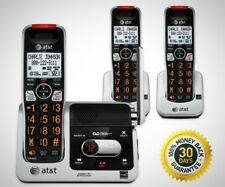 Dect 6.0 Phone Answering System Caller Id Call Waiting 3 Cordless Handsets New