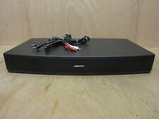 BOSE Solo TV Sound System Speaker Black Model 410376
