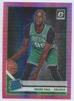 MINT 2019-20 Donruss Optic Tacko Fall #161 HYPER PINK PRIZM Rookie Celtics PSA ?