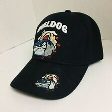 Georgia Bulldog Cap Hat Adjustable Back Strap Black. Caps 2