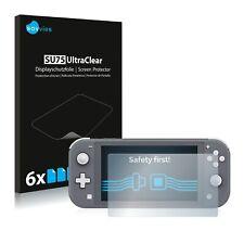 6x Displayschutzfolie für Nintendo Switch Lite Klar Schutzfolie Displayfolie