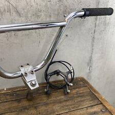 Redline Forklifter Stem Handlebars Old Mid School BMX 97 Bars Tektro Brake Leber