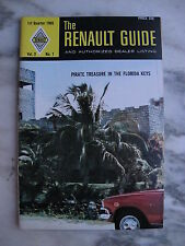 1969 RENAULT GUIDE Vol 3 No 1 Renault 10 & 16
