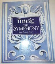 Music Magazine The Symphony Past Present Future 1995 032515R2