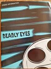 DEADLY EYES  - Theatrical Press Kit (1983)