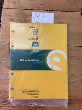 John Deere 4055 4255 4455 4755 4955 Tractor Operators Manual German Language