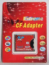 SD Adapter SD SDHC SDXC Card zu CF Type I 1 Compact Flash Card bis 2 TB