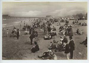 Rhyl – Pier Beach Photographer 1913 Photo By Frith