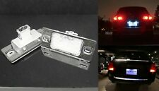 2x No Error 18 SMD LED License Plate Light for 03-10 Cayenne 955 957 VW Touareg