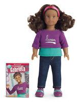 "NEW IN BOX American Girl 6.5"" Gabriela Mini Doll & Book Set NIB Sealed RETIRED"