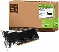 Professional-oriented NVIDIA GeForce GT 710 Graphics board 1GB GF-GT710-E1GB/HS