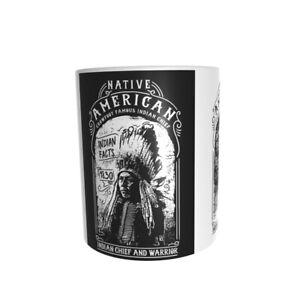 Western - Kaffeetasse  -Indianer -Keramiktasse- -- Neu - Funtasse-