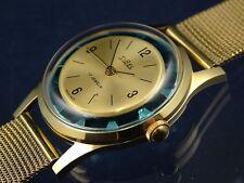 Vintage NOS Sibel Esqueleto Mecánico Cóctel Reloj 1960s Viejo Stock Suiza